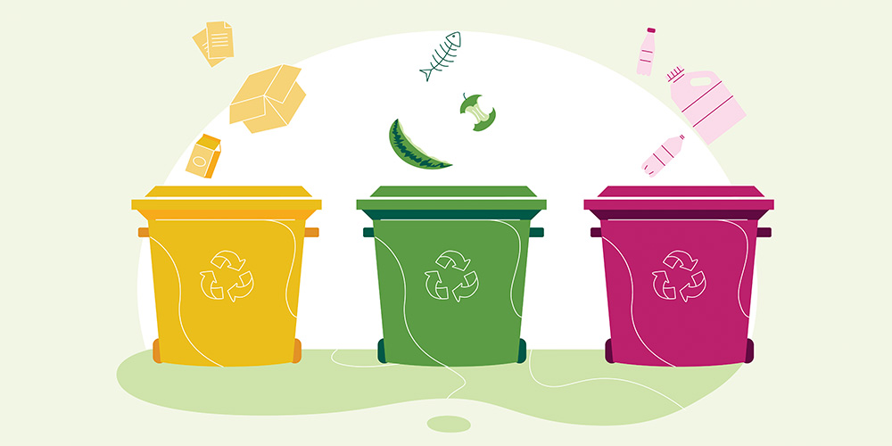 Household waste recycling tips