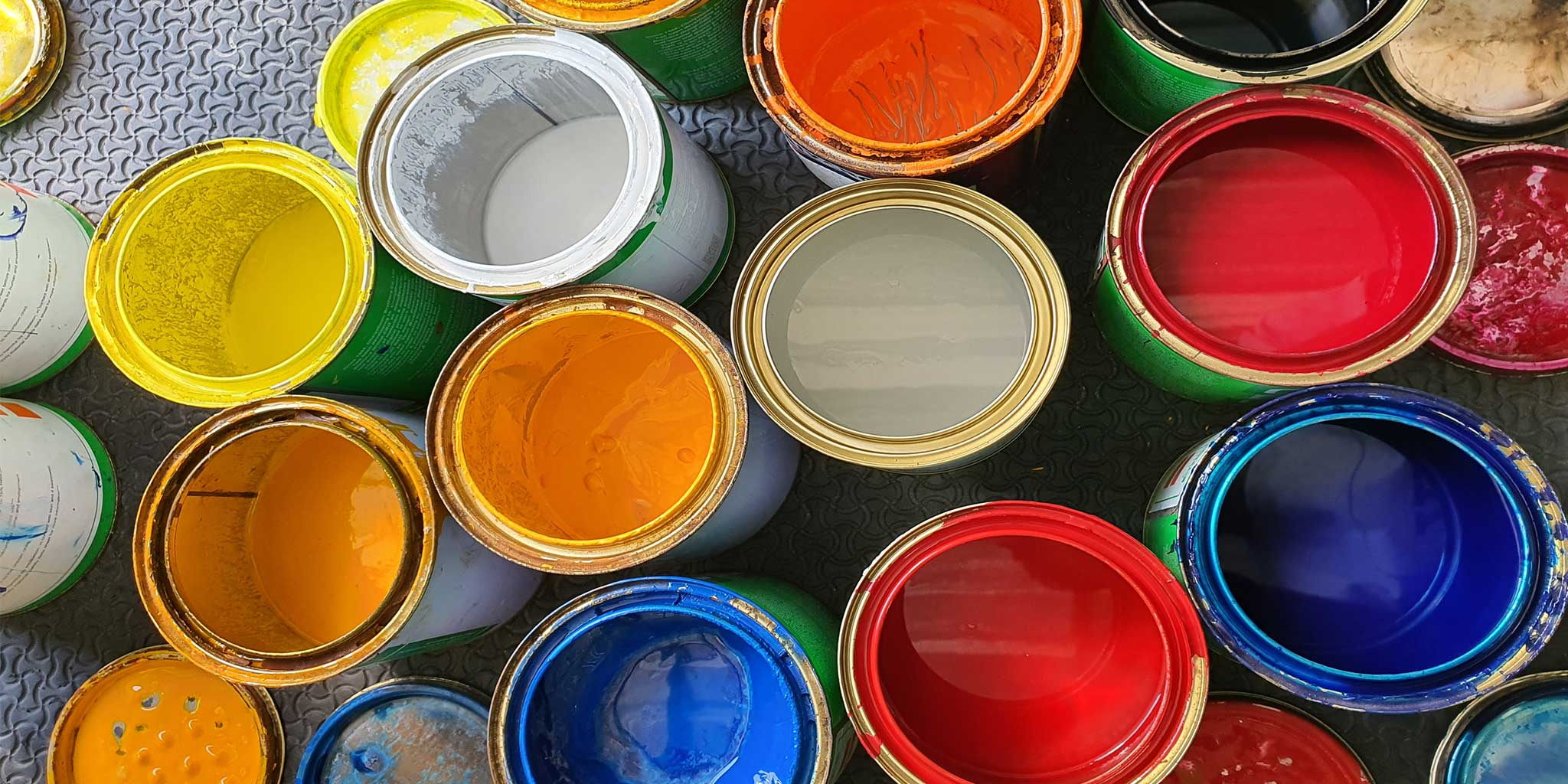 Tin Cans of Paint