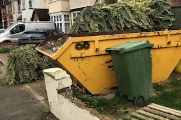 Skip Hire in Camberley - A Recent Exchange